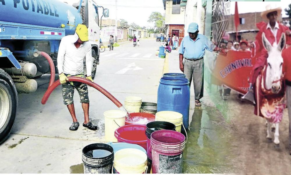 PACORA: celebran carnaval costeño con agua con arsénico.