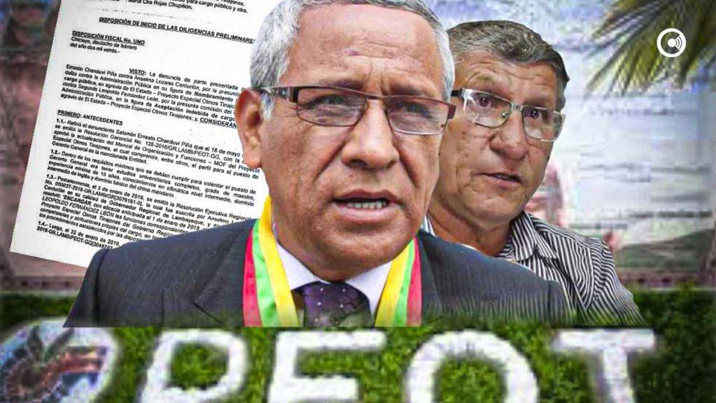 Gobernador Lozano y Gerente del PEOT, no se salvarán: Fiscalía los acusará por delito contra la administración pública