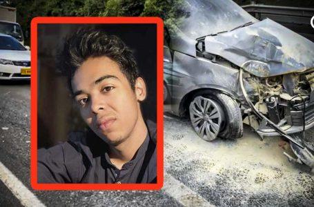 ACCIDENTE DESASTROSO: Defecto en la autopista medellín Bogotá, puso en riesgo la vida de uno de los Youtubers más grandes de Colombia