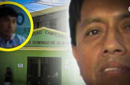 Tesorero de Comunidad Campesina de Olmos, destapa escandalosa defraudación del patrimonio comunal: Acusa a presidente Timo Arroyo