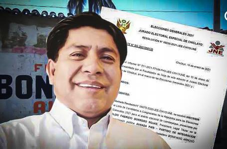 Jurado Electoral Especial de Chiclayo inicio procedimiento de exclusión a candidato de Avanza País: Mintió en hoja de vida